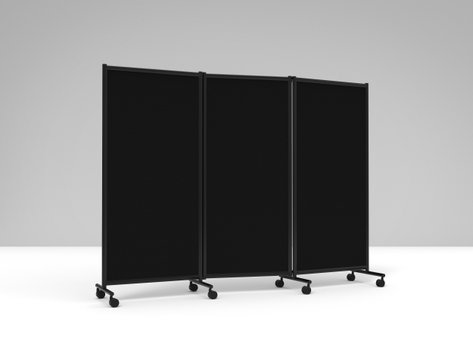 Biombo Preto 2280x1705mm ONE Screen